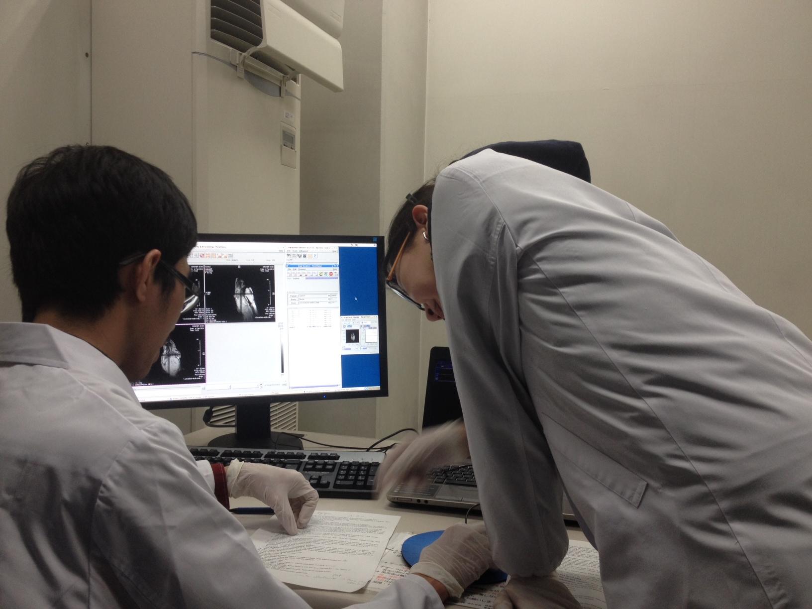 留学生写真MRI